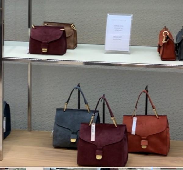2d10ba95d3a5 Кожаная сумка Firenze медиум размер серая замшевая